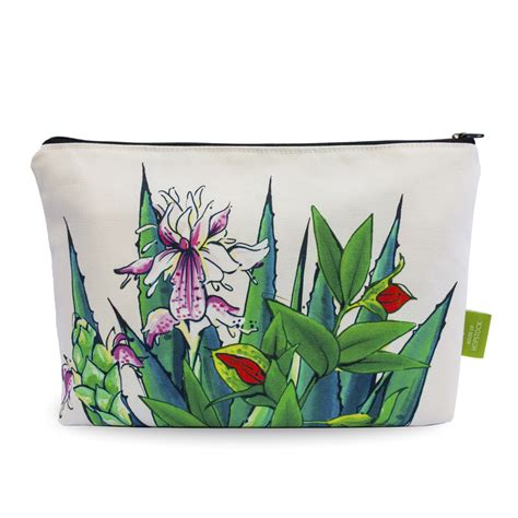 Print Makeup Pouch tropical print makeup pouch tulum canvas house of hopstock