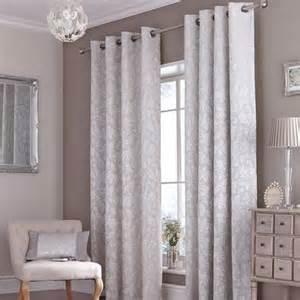 dunlem curtains canterbury silver eyelet curtains dunelm