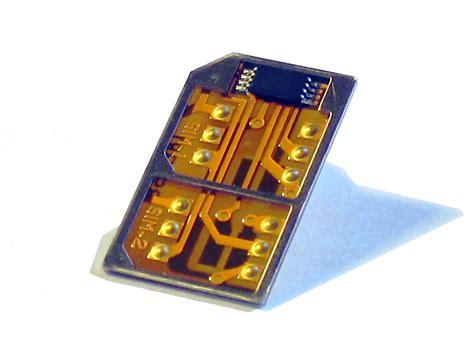dual sim karte adapter card fuer das iphone    nokia