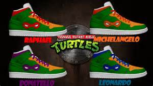 s light up mutant turtles shoes