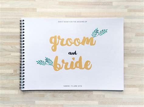 Buku Tamu Daur Ulang memilih buku tamu pernikahan