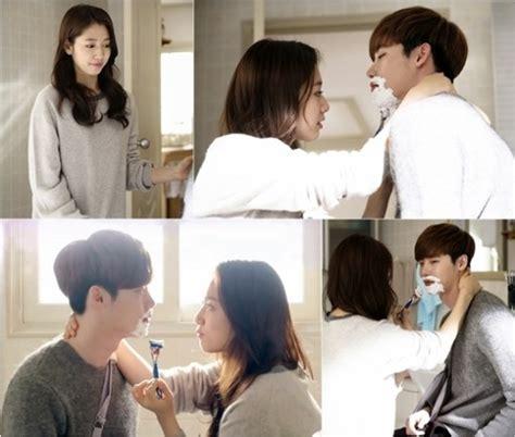 drama lee jong suk park shin hye new stills show it s park shin hye s turn to care for lee