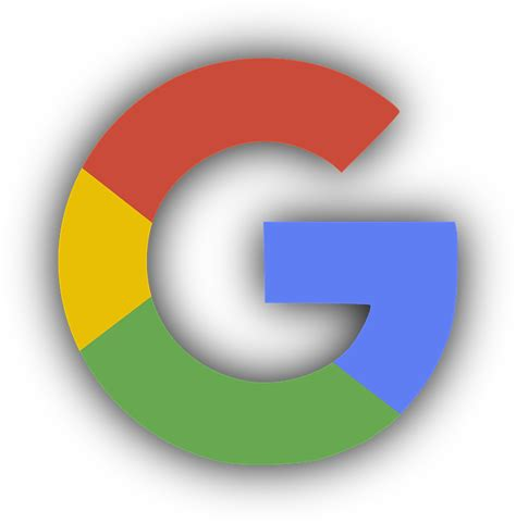 google images no background free vector graphic google logo shadow free image on