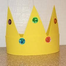 How To Make A Crown Out Of Construction Paper - crafts inspired by the my and me series