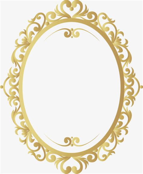 gold wedding border png vector gold retro pattern border retro borders pattern