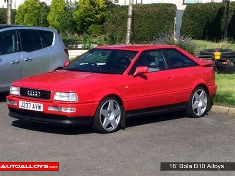 audi a4 b10 audi coupe on 18 quot bola b10 alloy wheels supplied by