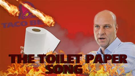 toilet paper song the toilet paper song official music video youtube