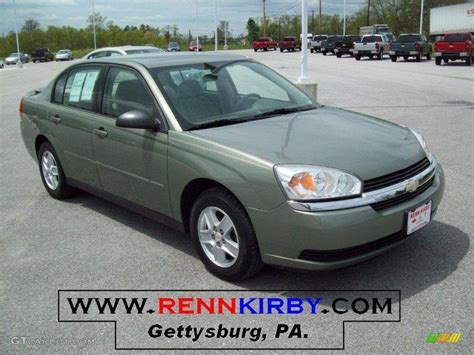 2005 chevy malibu change 2005 silver green metallic chevrolet malibu ls v6 sedan