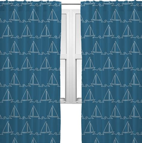 sailboat window curtains rope sail boats curtains 40 quot x84 quot panels lined 2