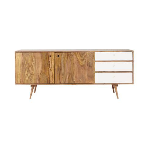 credenza bassa credenza bassa lunga vintage in legno di sheesham l 177 cm