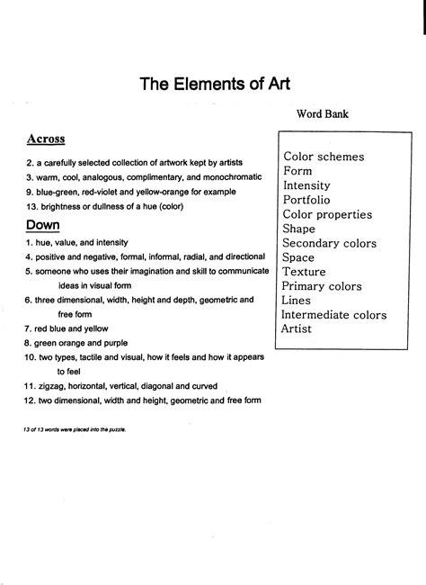 design artist crossword clue line designs worksheet worksheets releaseboard free