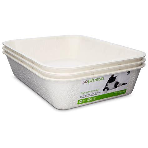 petco litter box ottoman so phresh disposable litter boxes petco