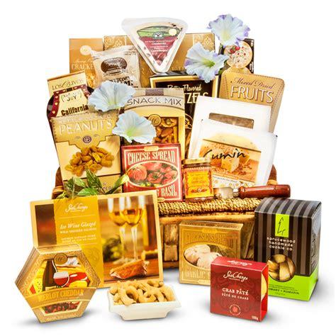 gourmet gifts a cut above gourmet cheese basket deluxe ontariogourmet