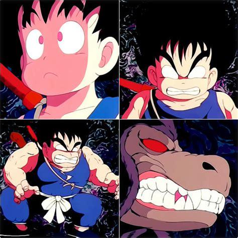 imagenes de goku ozaru imagen goku transformandose en ozaru asd jpg dragon