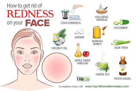 how t get rid of red in salt amd pepper hair how to get rid of redness on your face top 10 home remedies
