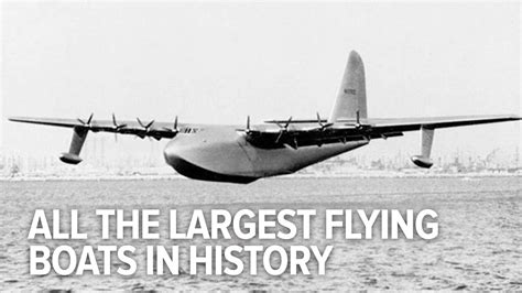 flying boat history all the largest flying boats in history youtube