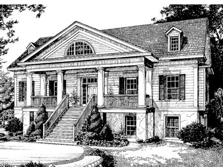 historic greek revival house plans greek revival plantation home house plans historic greek