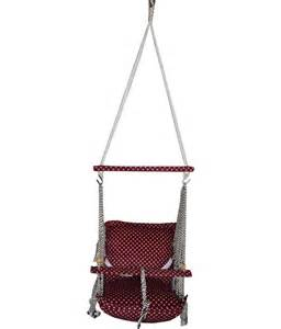 hanging swing for baby nehal brown baby swing hanging chair buy nehal brown baby