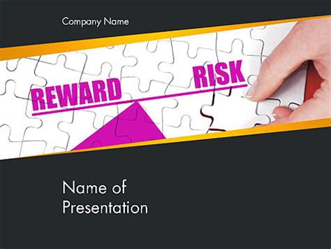 ppt templates for rewards risk vs reward presentation template for powerpoint and