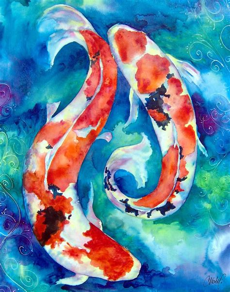 painting to do koi fish watercolor painting demo crafthubs koi
