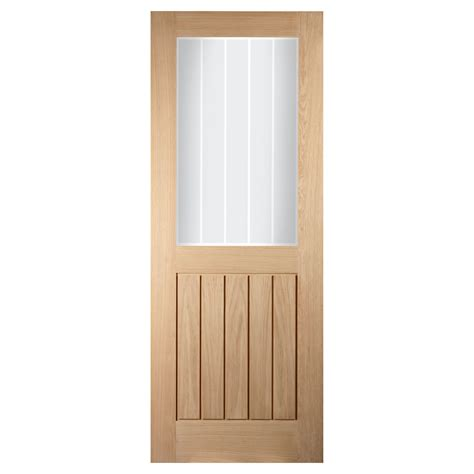 Double Doors: White Glazed Internal Double Doors