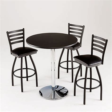 black pub table set 6 contemporary black pub table sets furniture