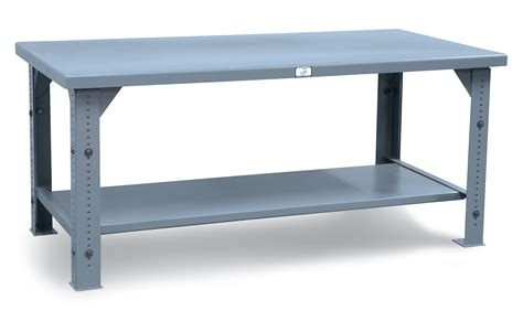 Table Shopping Strong Hold Products Adjustable Height Shop Table