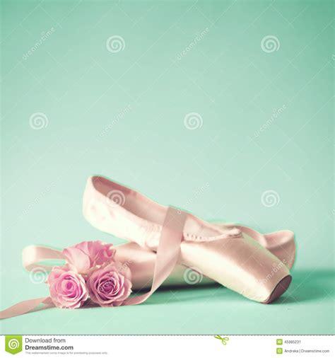 imagenes vintage ballet zapatos de ballet del vintage foto de archivo imagen