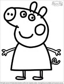 free coloring pages peppa pig dinosaur