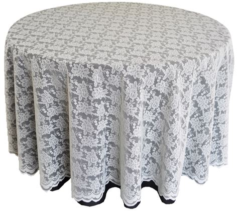 ivory lace table overlays linens toppers