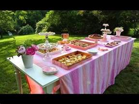 How To Set Up A Backyard by Summer Setting Up An Outdoor Buffet Table