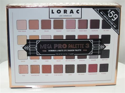 Lorac Mega Pro Palette 3 lorac mega pro palette 3 review swatches musings of a muse