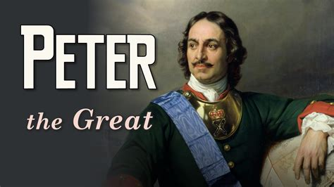 The Great the great tsar of russia