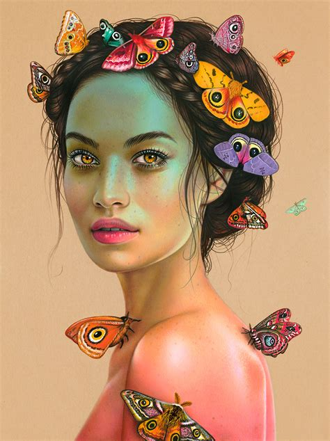 colored pencil artists this artist creates breathtakingly vibrant colored pencil