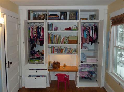 closet desk ideas bookshelves beautiful desk in closet ideas for kids best
