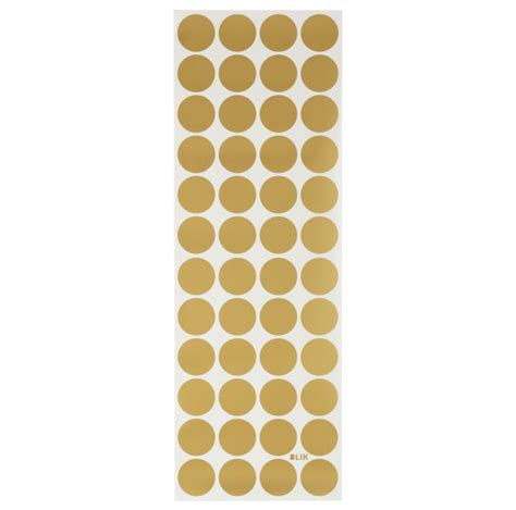 Gold Dot Stickers