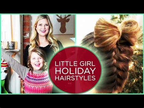 little girl hairstyles youtube 2 little girl holiday hairstyles youtube