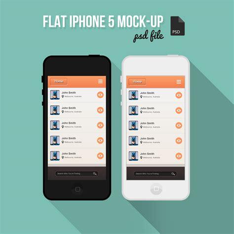 Eco Friendly Diy Products free flat iphone mock up psd designbump