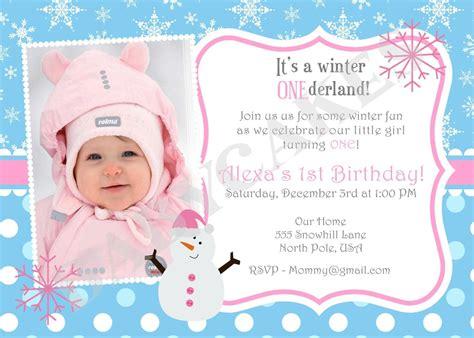 Birthday Invitation Wording For 6 Year Old Birthday Baby 1st Birthday Invitation Templates