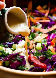 Detox Salad With Tahini Dressing Cabbage Romaine by 1000 Images About Lettuce Make A Salad On