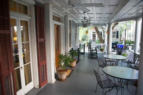 bed and breakfast charleston front porch