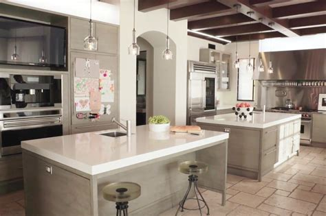 celebrity house kitchen kourtney kardashian kitchen and living room people