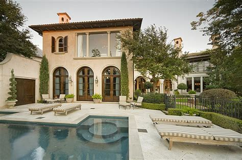 large mediterranean house plans mediterranean style home mediterranean home in the memorial park section of houston