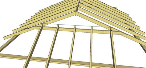 dutch gable roof method 1 youtube