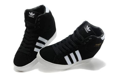 adidas originals increase s high heeled shoes black