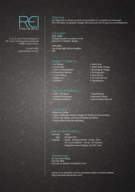 various inspiring ideas of the stylish yet simple dining 25 excelentes ejemplos de curriculum vitae creativos