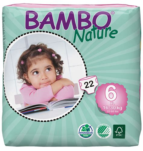 Happy Size Xl 22 bambo nature disposable nappies xl plus size 6 pack of 22 bambo