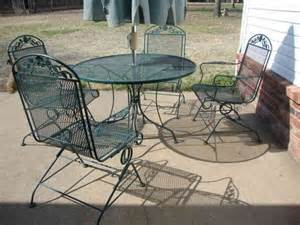 Used Wrought Iron Patio Furniture Sets Furniture Rod Iron Patio Set Patio Design Ideas Wrought