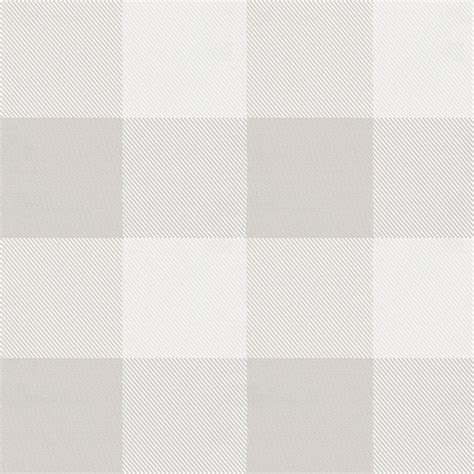 french gray and white buffalo check fabric by the yard