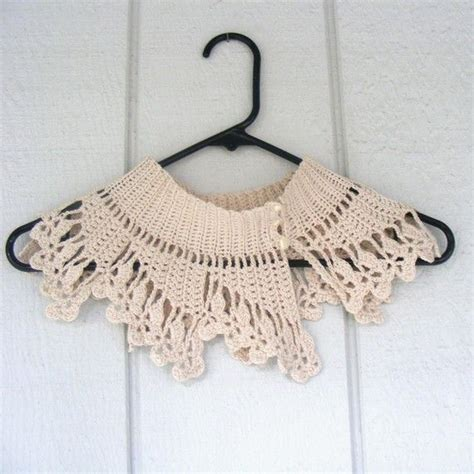 pattern crochet lace collar 77 best images about crochet collars on pinterest collar